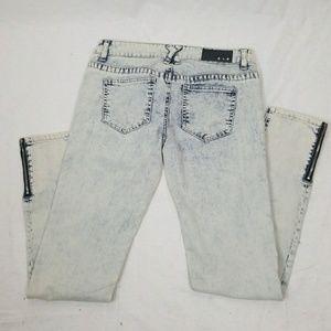 Celebrity Pink blue denim skinny jeans size 9